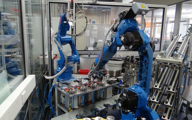 2007, first Unirobot assembly automation system