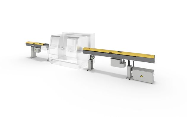 Individual applications - Compact loading and unload system for small diameter ranges