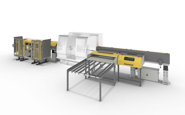 Individual applications - Loading and unload system for high material throughput